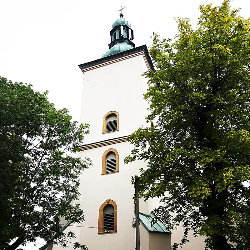 Łazany, Parafia Znalezienia Krzyża Świętego