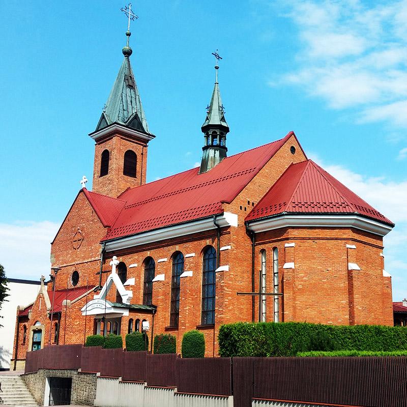 Borzęta, Parafia Niepokalanego Serca Najświętszej Maryi Panny
