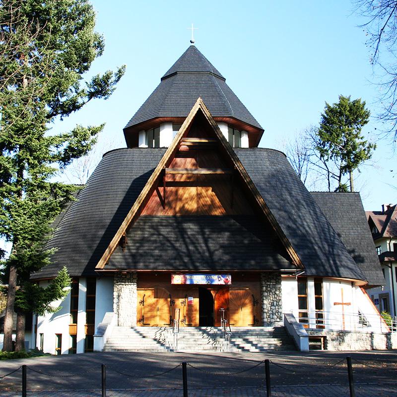 Zakopane-Chramcówki, Parafia Miłosierdzia Bożego