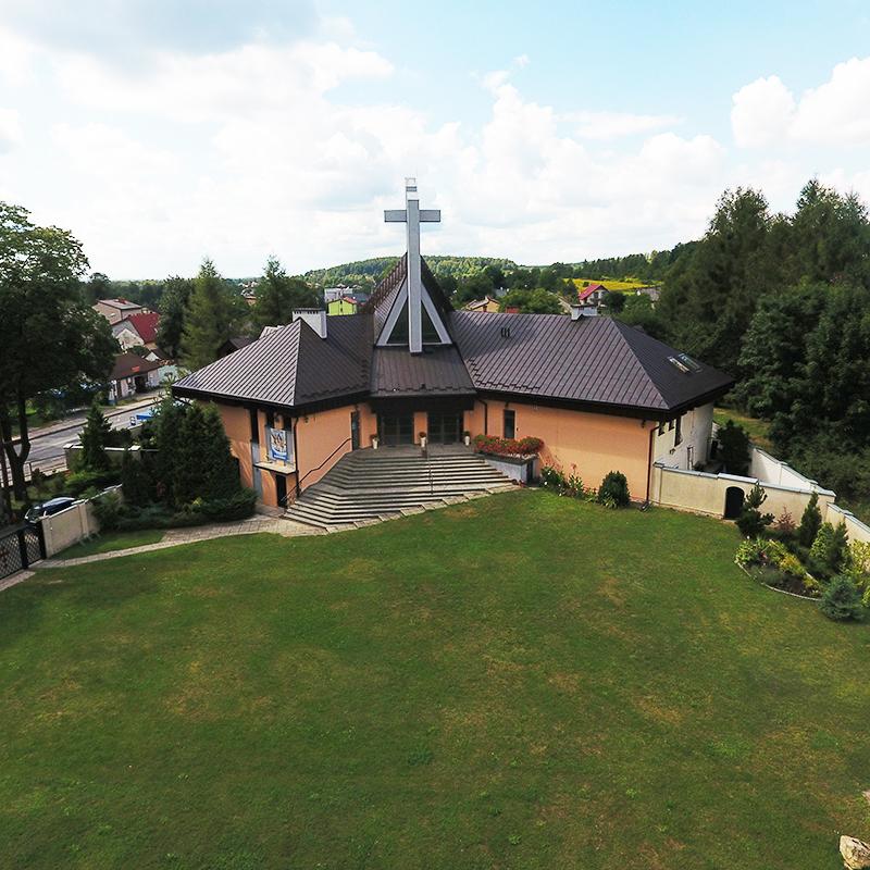 Chrzanów-Kąty, Parafia Miłosierdzia Bożego