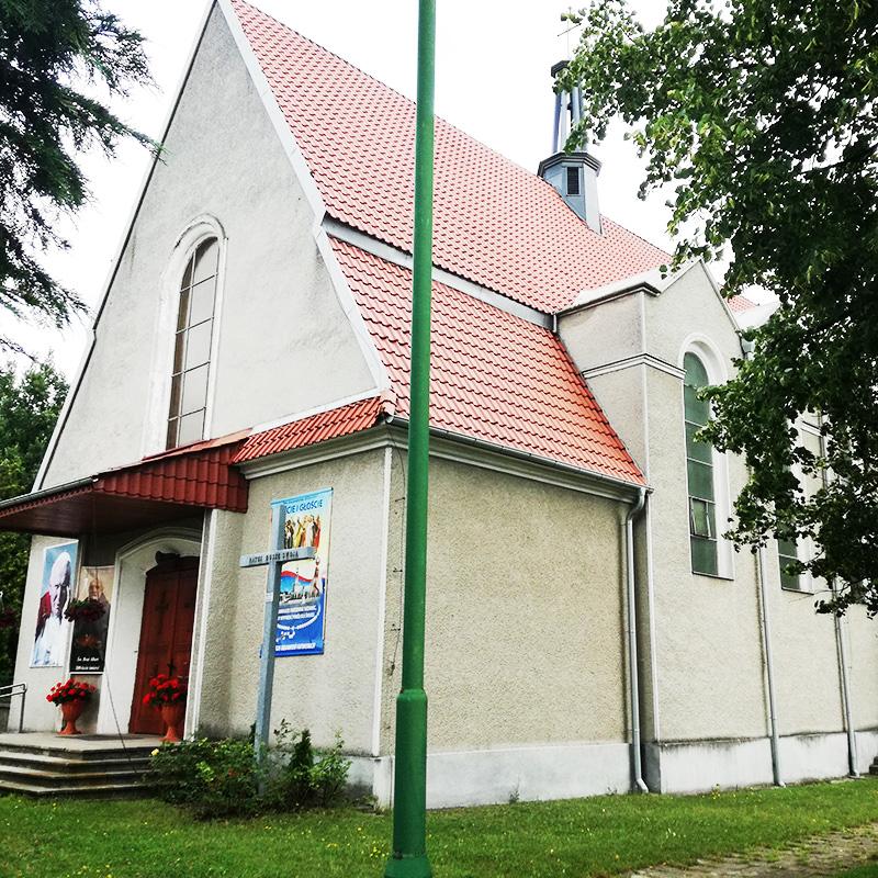 Dąbrowa Szlachecka, Parafia Najświętszej Maryi Panny Królowej Polski