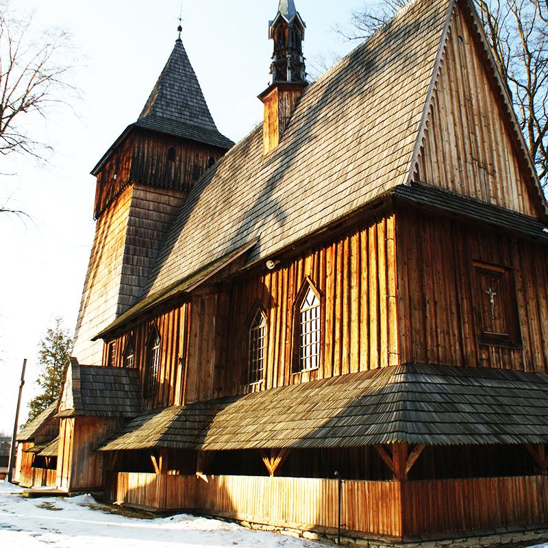 Harklowa, Parafia Narodzenia NMP