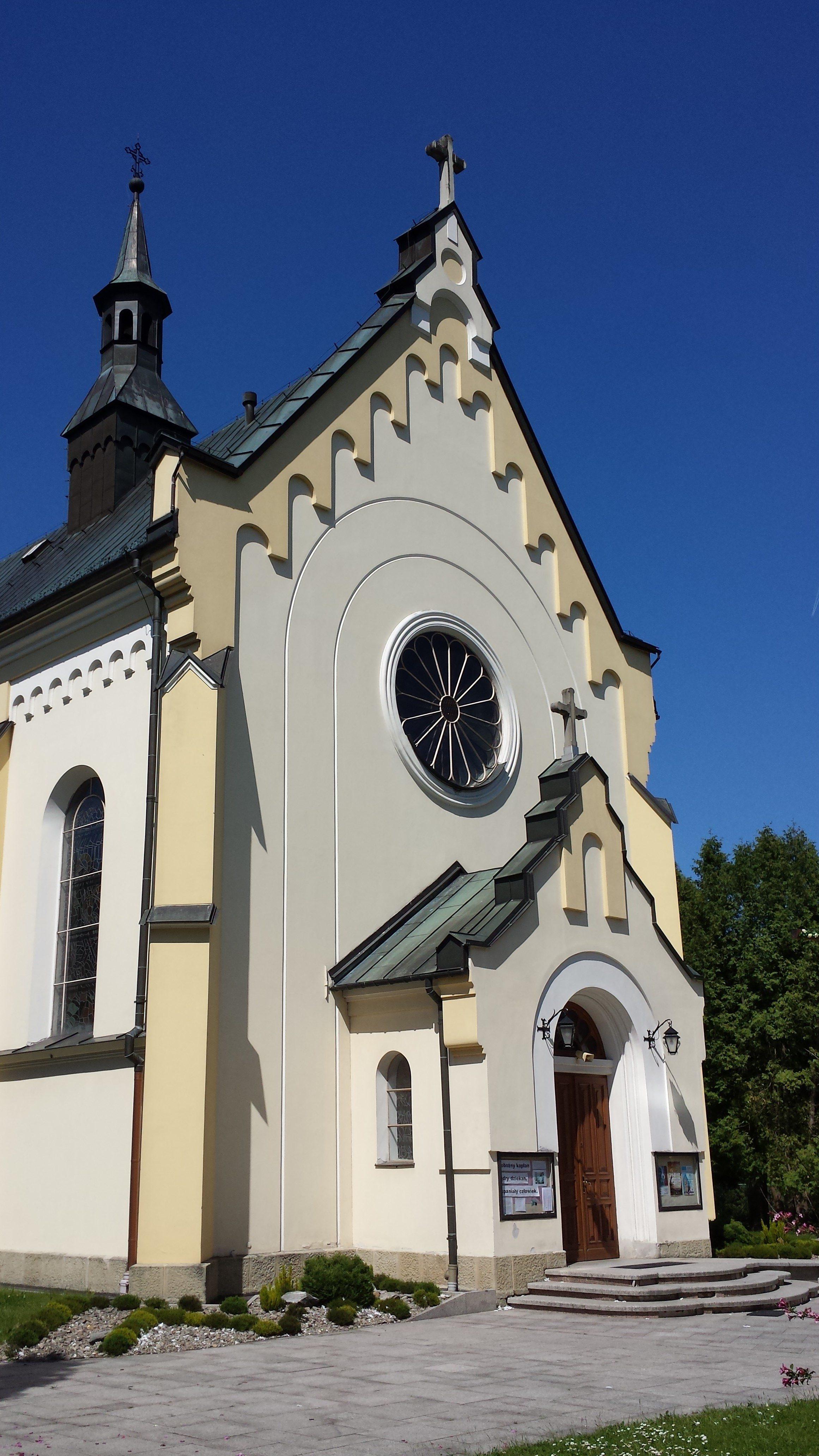 Stróża, Parafia NMP Królowej Polski