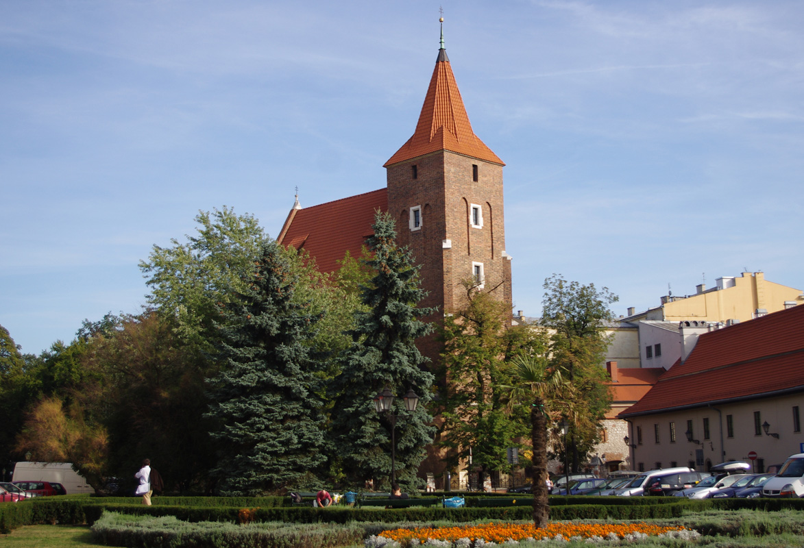 Kraków, Parafia Świętego Krzyża