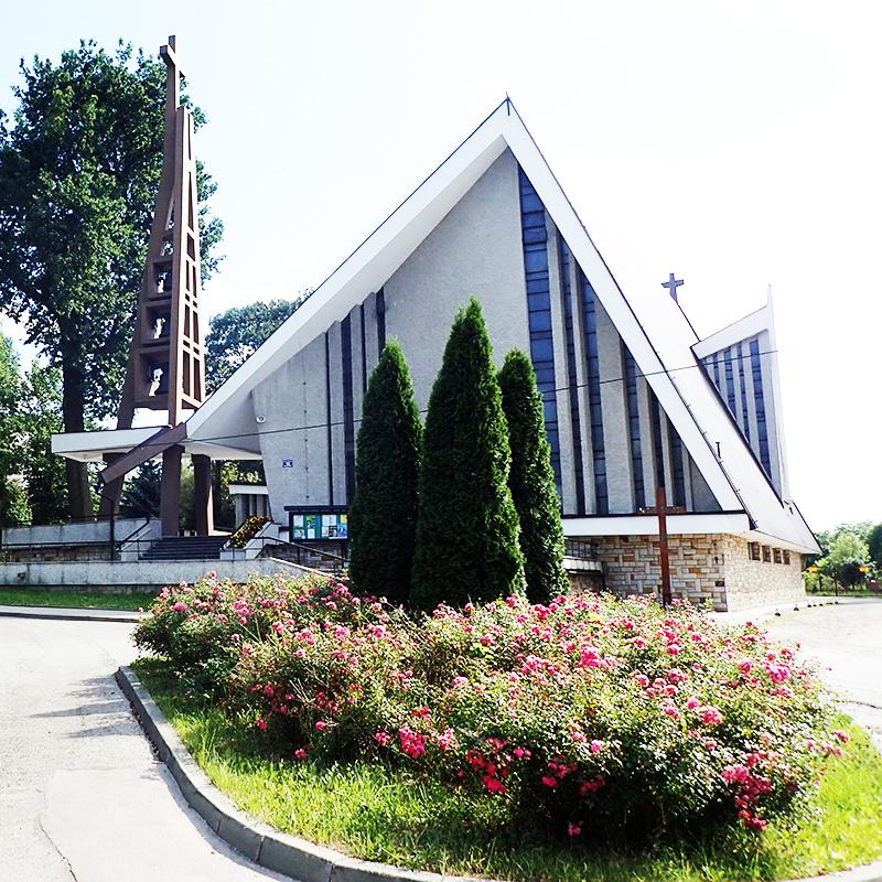 Kraków-Łagiewniki, Parafia Najświętszego Serca Pana Jezusa