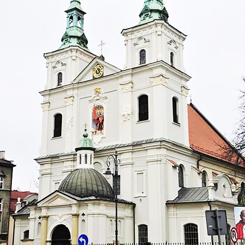Kraków, Parafia św. Floriana