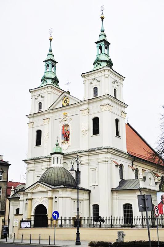 Kościół stacyjny – Bazylika św. Floriana