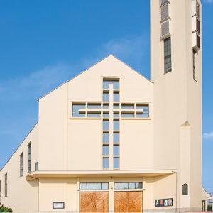 Kraków-Kurdwanów, Parafia Podwyższenia Krzyża Świętego