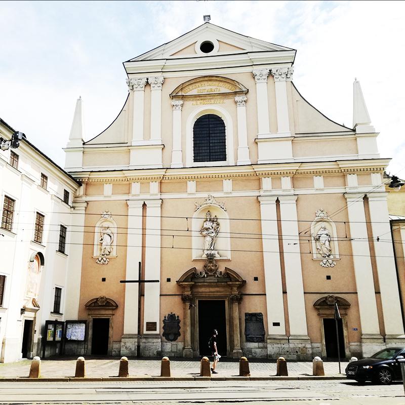 """Kraków, Parafia Nawiedzenia Najświętszej Maryi Panny (""""Na Piasku"""")"""