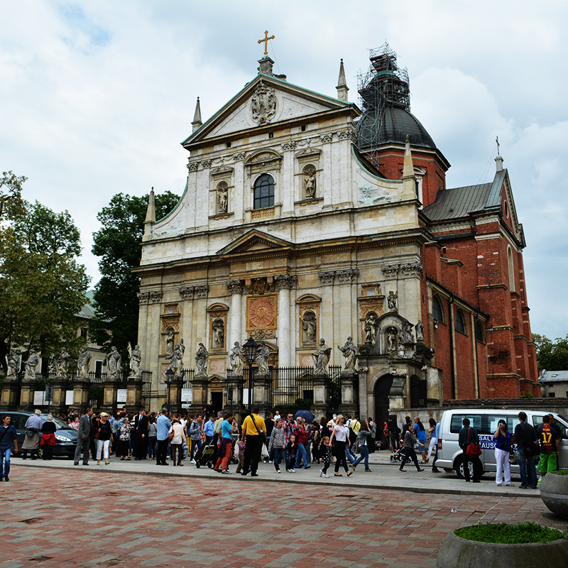 Kraków, Parafia Wszystkich Świętych