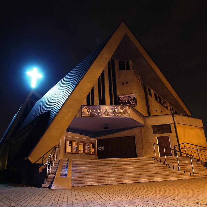 Kraków-Wola Duchacka, Parafia Zmartwychwstania Pańskiego