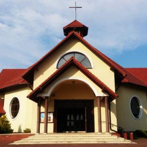 Ostrężnica – Łany, Parafia św. Siostry Faustyny