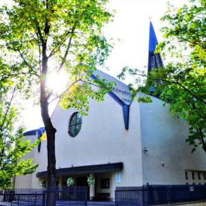 Kraków-os. Teatralne, Parafia Najświętszego Serca Pana Jezusa