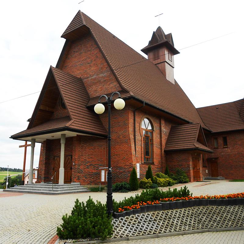 Podsarnie, Parafia św. Jana Pawła II
