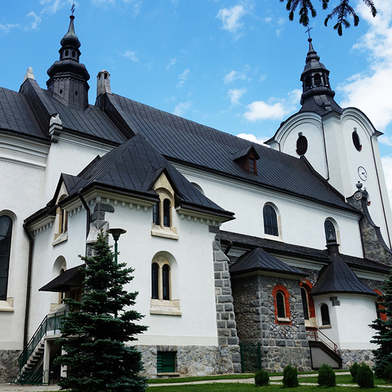 Poronin, Parafia św. Marii Magdaleny