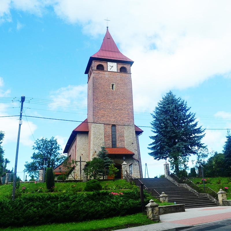 Przytkowice, Parafia Przenajświętszej Trójcy