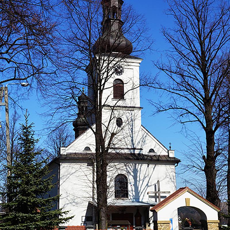 Sidzina k. Jordanowa, Parafia św. Mikołaja