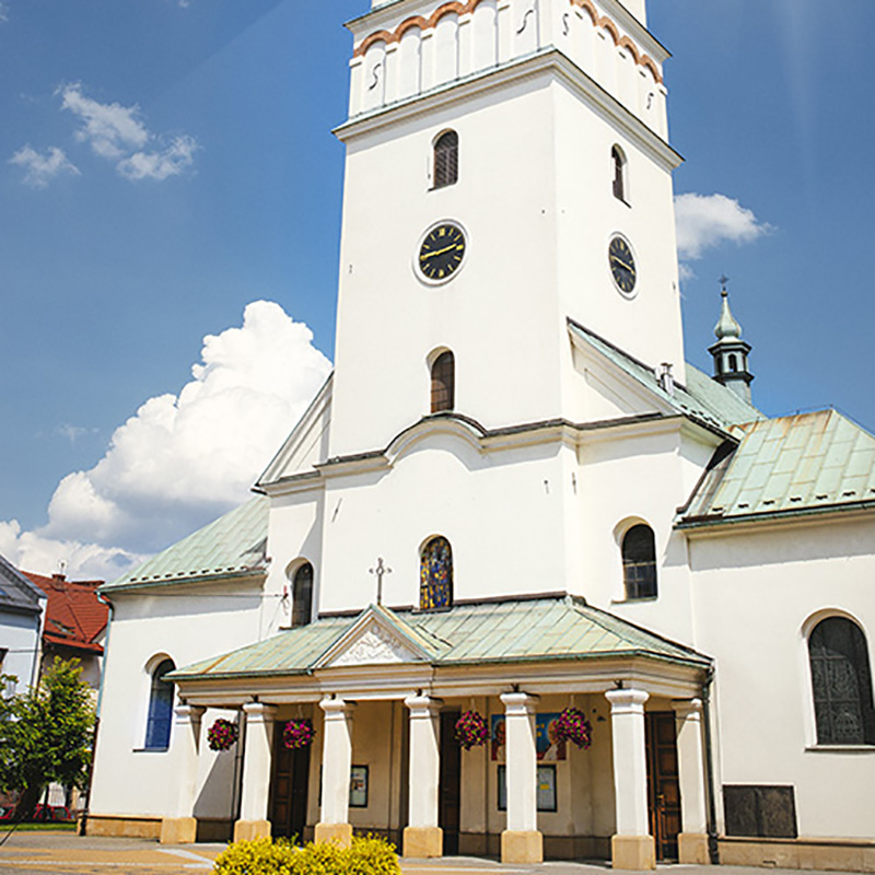 Skawina, Parafia Świętych Apostołów Szymona i Judy Tadeusza