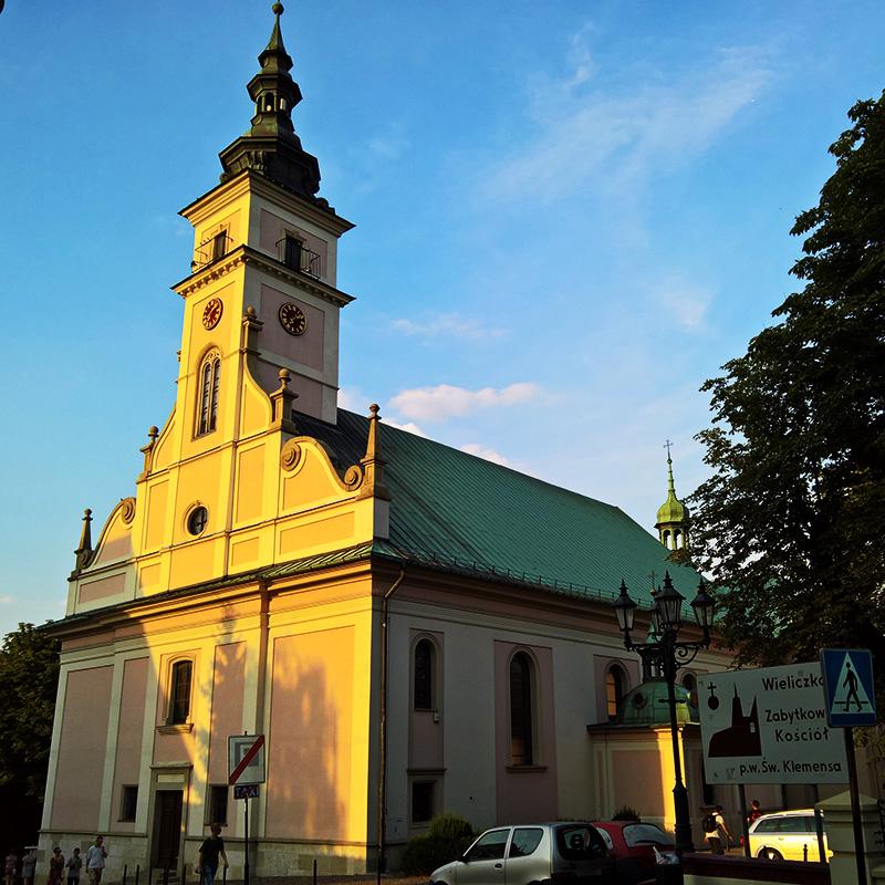 Wieliczka, Parafia św. Klemensa