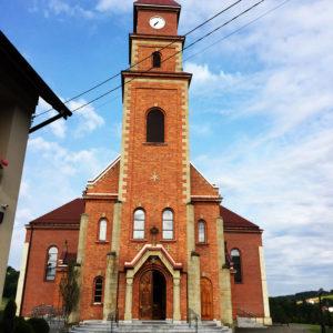 Wysoka k. Wadowic, Parafia św. Marii Magdaleny
