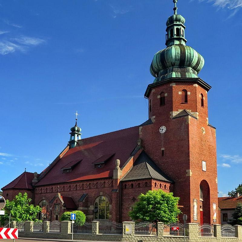 Zembrzyce, Parafia św. Jana Chrzciciela