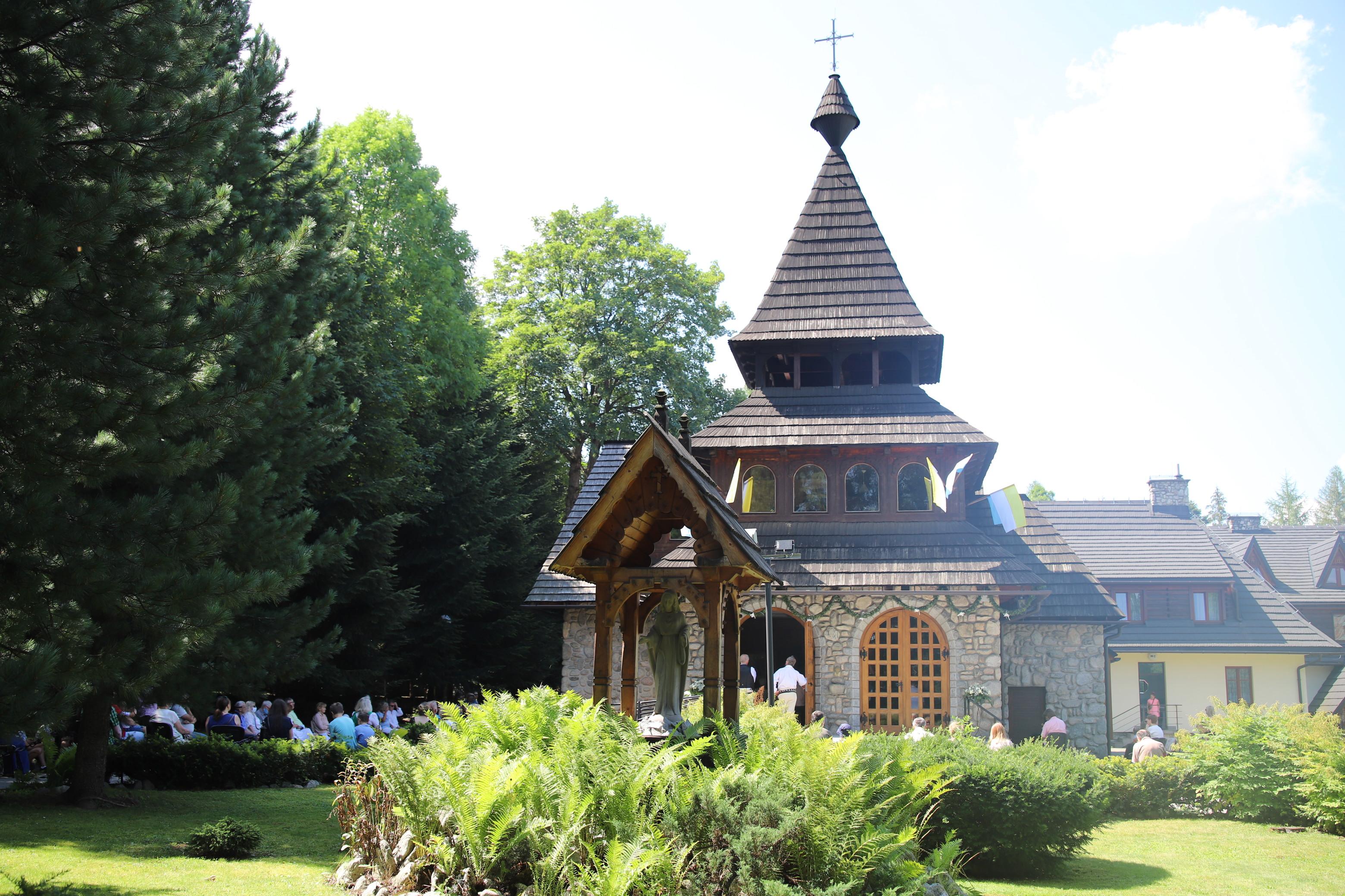Zakopane-Bystre, Parafia św. Antoniego Padewskiego