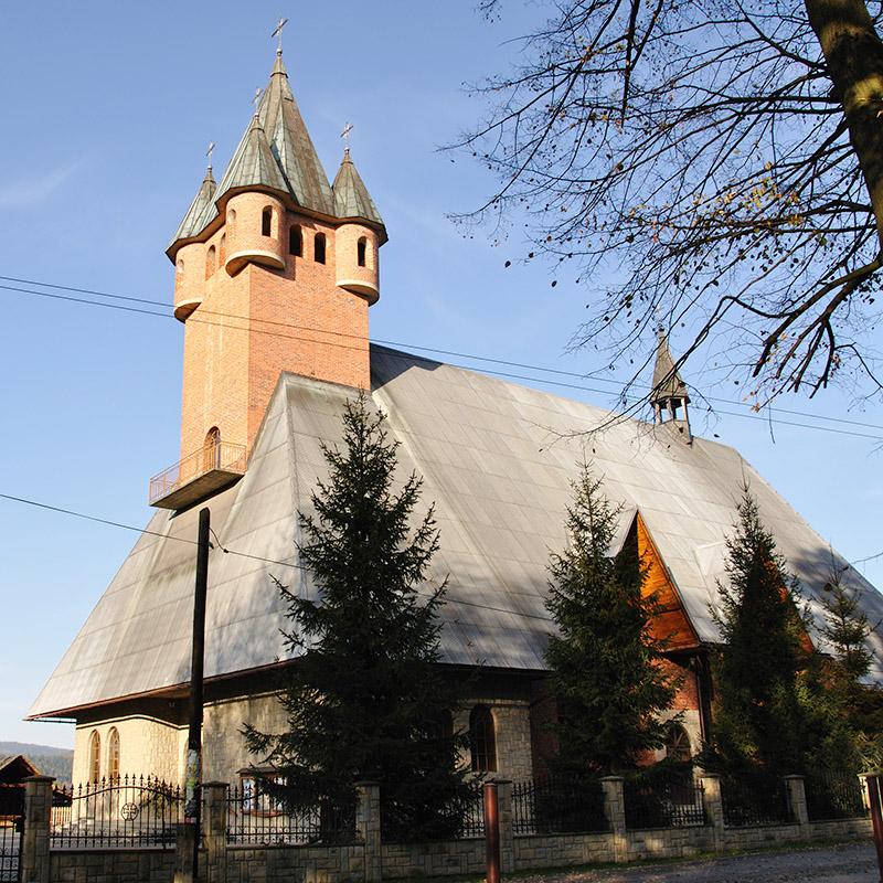Bystra Podhalańska, Parafia św. Marcina