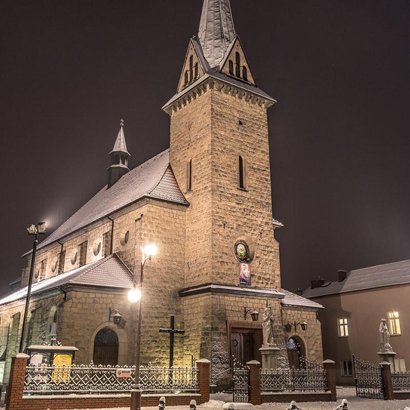 Dobczyce, Parafia Matki Bożej Wspomożenia Wiernych