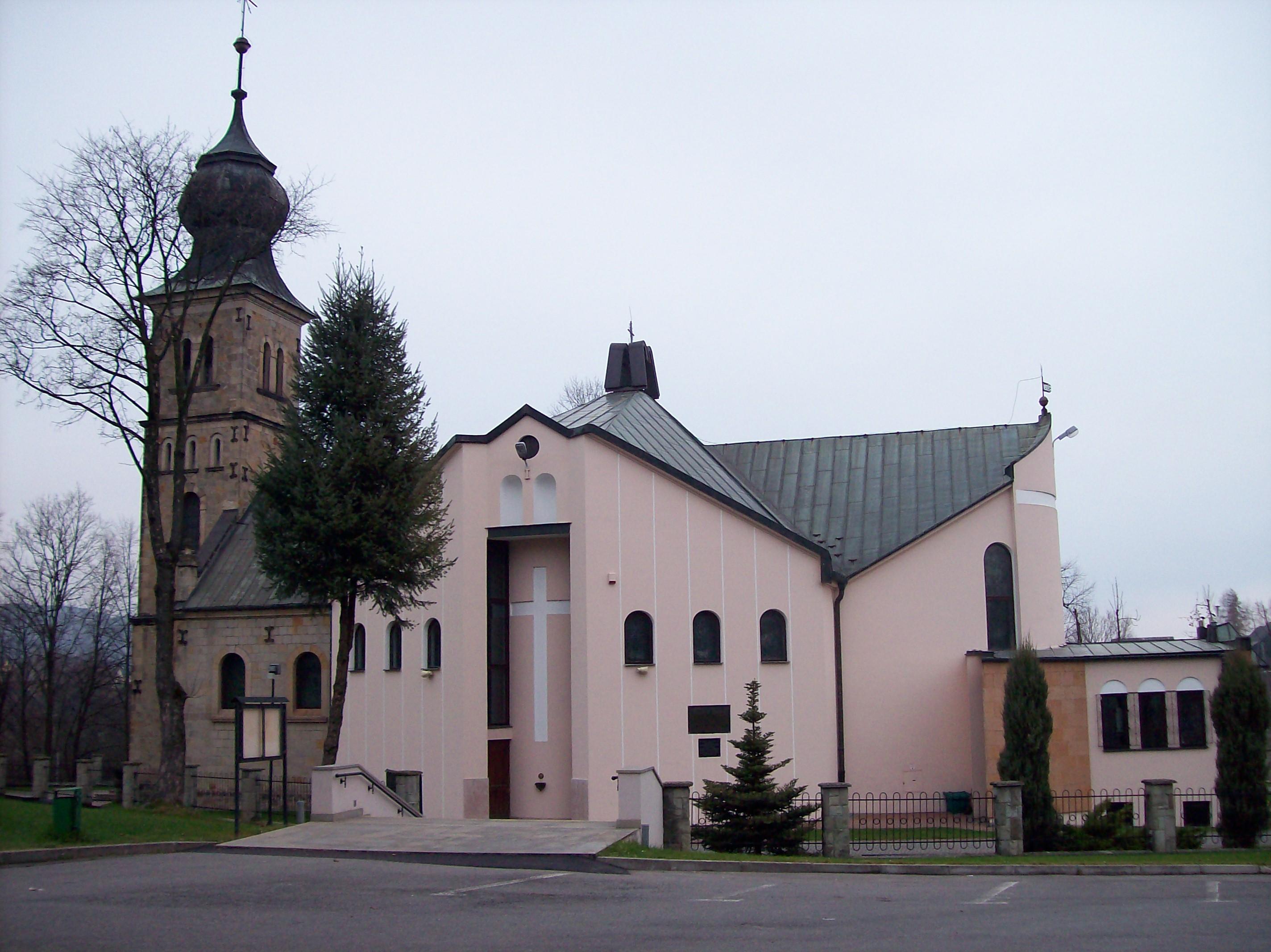 Jawornik, Parafia Podwyższenia Krzyża Świętego