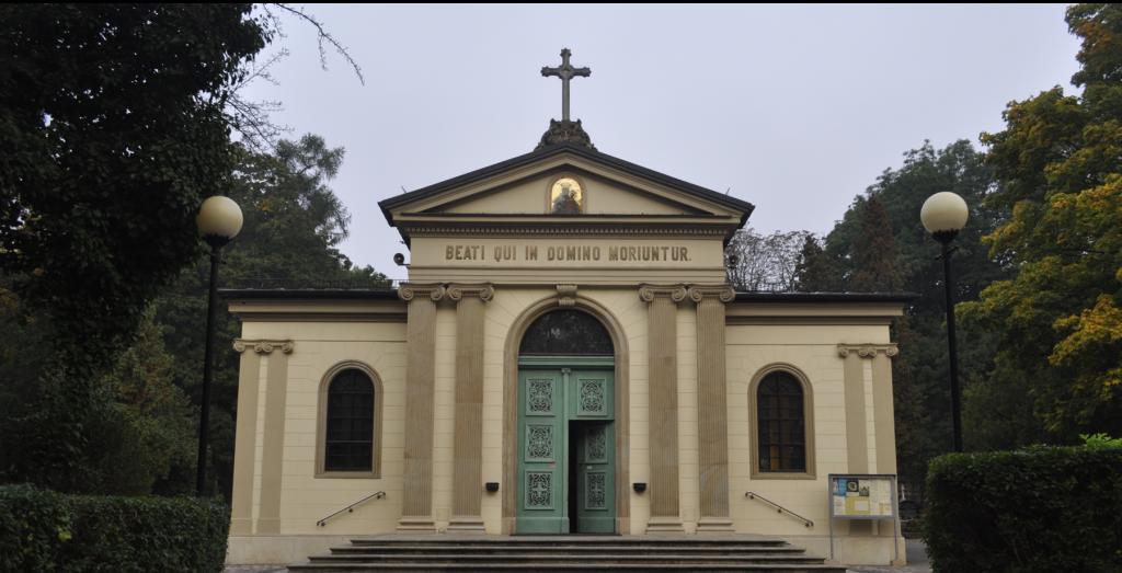 Kraków-Cmentarz Batowicki, Kapelania pw. Chrystusa Odkupiciela
