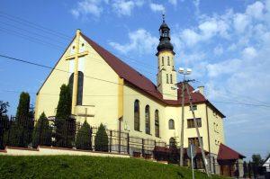 Koźmice Wielkie, Parafia Trójcy Świętej