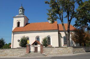 Chrzanów-Kościelec, Parafia św. Jana Chrzciciela