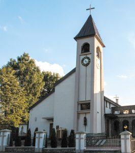 Kraków-Sidzina, Parafia Podwyższenia Krzyża Świętego