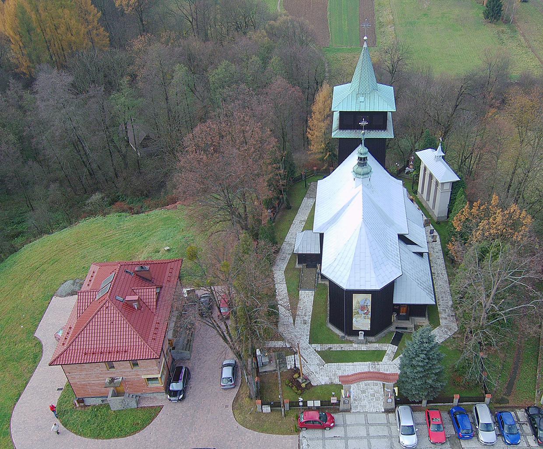 Marcyporęba, Parafia św. Marcina