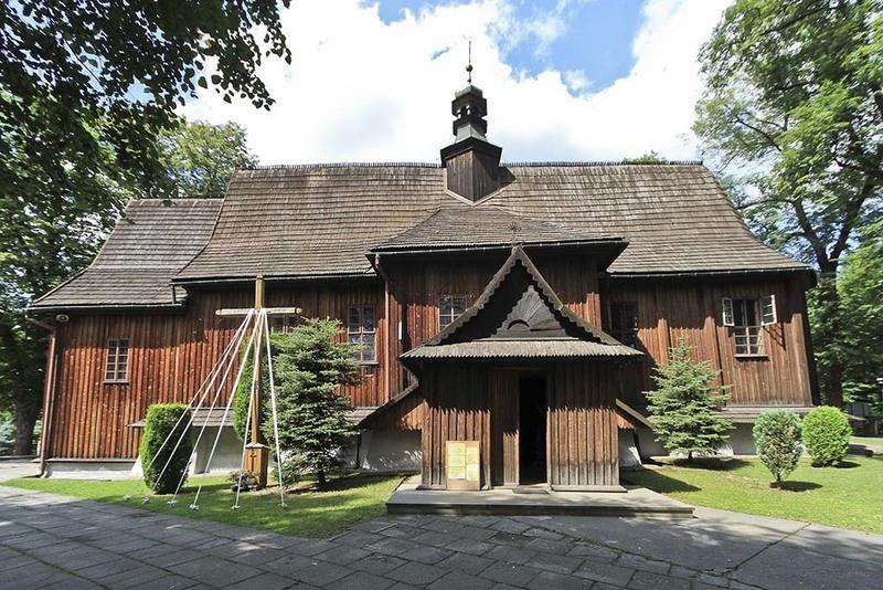 Modlnica, Parafia św. Wojciecha i Matki Bożej Bolesnej