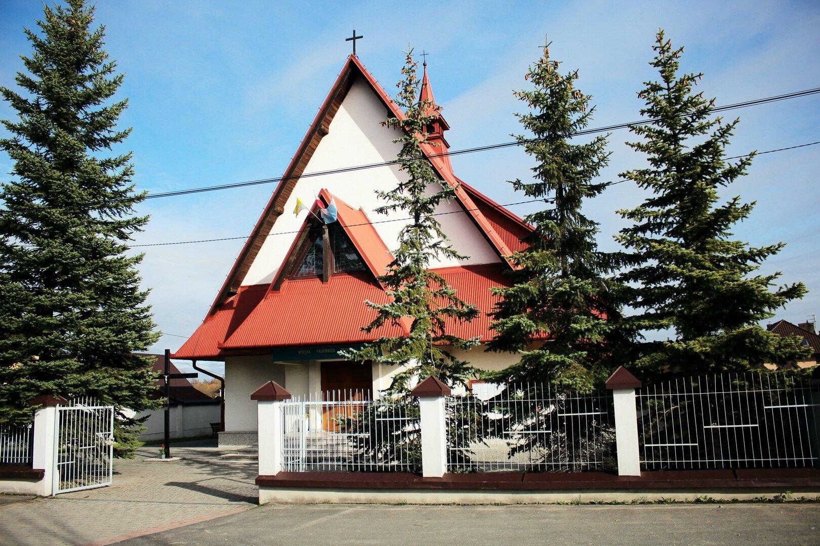 Polanka k. Myślenic, Parafia św. Jana Chrzciciela