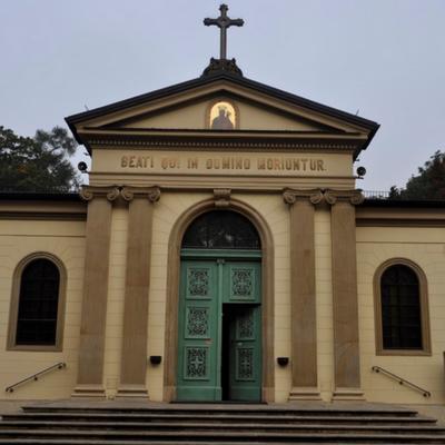 Kraków-Cmentarz Rakowicki, Rektorat Zmartwychwstania Pańskiego
