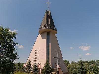 Kraków-Rżąka, Parafia Nawiedzenia Najświętszej Maryi Panny