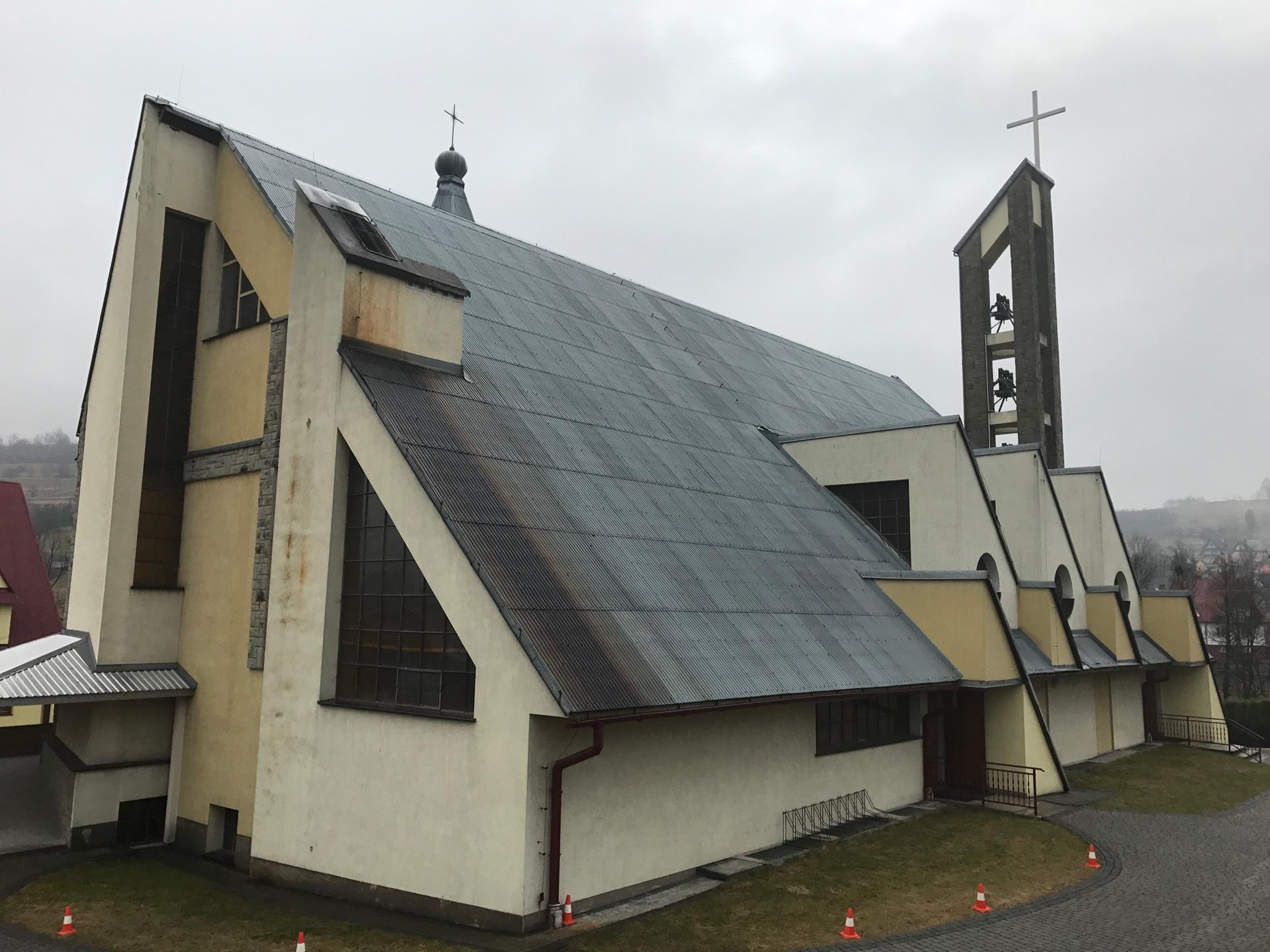 Toporzysko, Parafia Najświętszej Maryi Panny Matki Kościoła