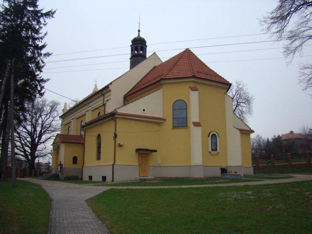 Kraków-Wróblowice, Parafia Przemienienia Pańskiego