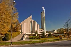 Kraków-Wzgórza Krzesławickie, Parafia Miłosierdzia Bożego