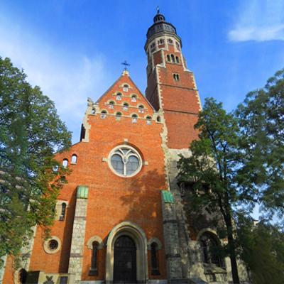 Kraków, Kościół Najświętszego Serca Pana Jezusa