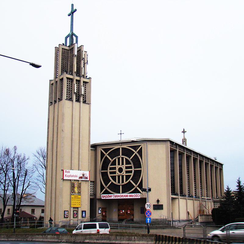 Kraków-Borek Fałęcki, Parafia Matki Bożej Zwycięskiej