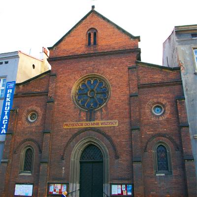Kraków, Kościół Księży Misjonarzy św. Wincentego a Paulo