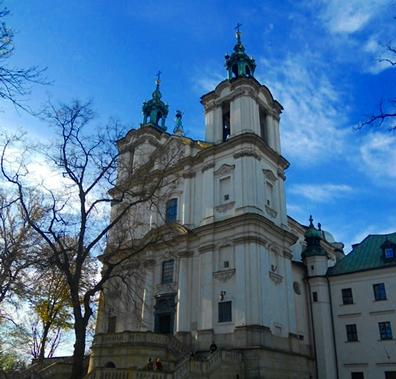Krakow Bazylika Swietych Michala Archaniola I Stanislawa Biskupa