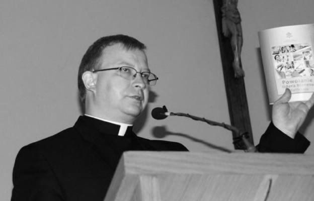 Zmarł ks. dr Marek Leśniak