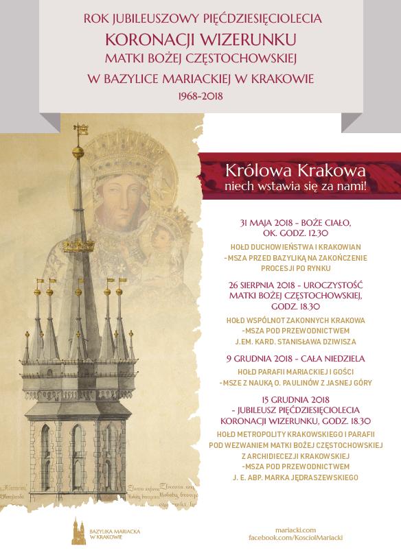 Jubileusz 50-lecia Koronacji Mariackiego wizerunku MB Częstochowskiej