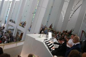 Abp Jędraszewski poświęcił organy w Sanktuarium Bożego Miłosierdzia