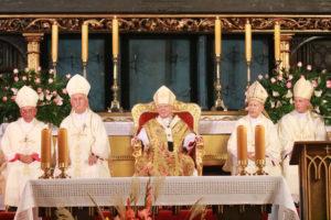 Arcybiskup Marek Jędraszewski podczas odpustu w Bazylice Mariackiej: to Maryja obroniła Polską wolność