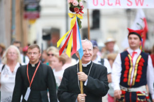 List Metropolity Arcybiskupa Marka Jędraszewskiego zapraszający na XXXVIII Krakowską Pieszą Pielgrzymkę na Jasną Górę